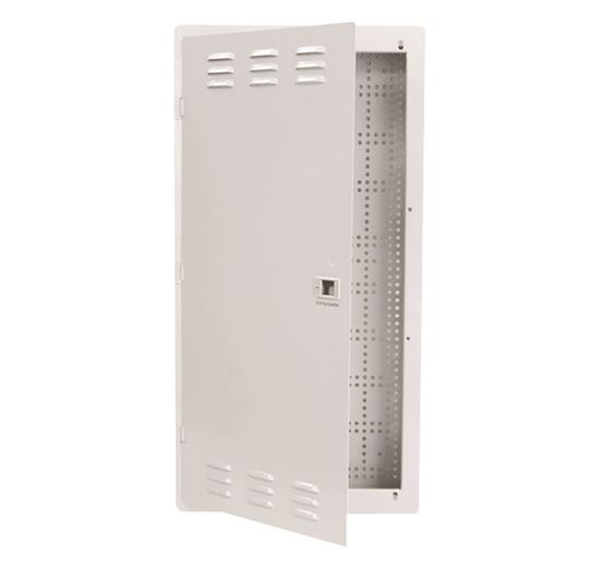 "Picture of DYNAMIX 28"" FTTH Low Profile Network Enclosure Recessed Wall"
