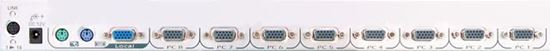 Picture of REXTRON 8 Port Slimline PS2 & USB Module. 1RU High. Incl: 8x 1.8m