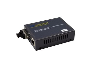Picture of CTS Gigabit Managed Media Converter. 10km.