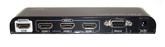 Picture of LENKENG 4K 3 in 1 out HDMI Switch Ultra HD 4K2K@60Hz. Bandwidth up