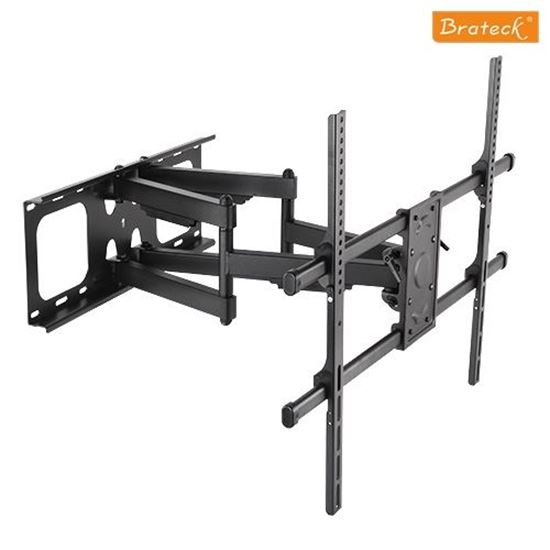Picture of BRATECK 50'-90' Full-motion wall mount. Max load: 75kg.
