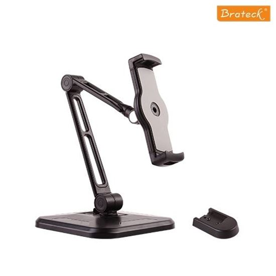 Picture of BRATECK Phone/Tablet desktop stand. Ideal for 4.7'~12.9' devices.