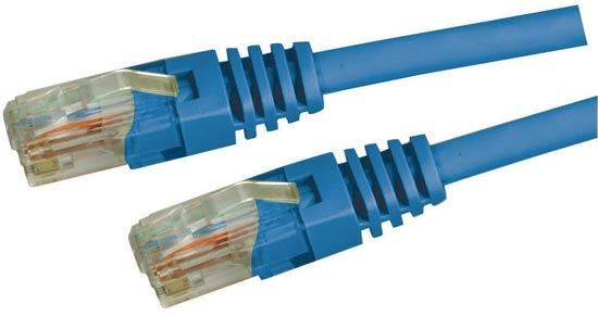 Picture of DYNAMIX 0.3m Cat5e Blue UTP Patch Lead (T568A Specification) 100MHz