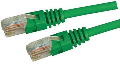 Picture of DYNAMIX 2m Cat5e Green UTP Patch Lead (T568A Specification) 100MHz