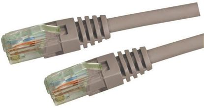 Picture of DYNAMIX 1m Cat5e Grey UTP Patch Lead (T568A Specification) 100MHz