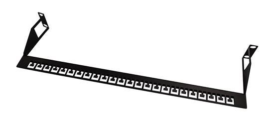 dynamix 19 u0026 39  u0026 39  rear cable management support bar  accompanies any 19 u0026quot
