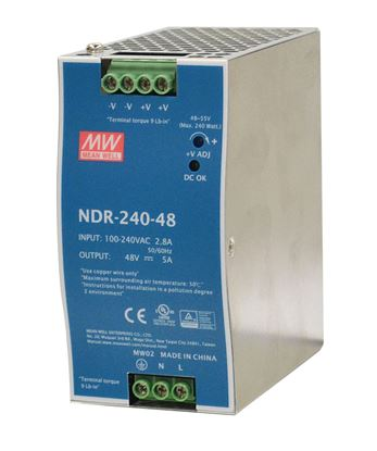 Picture of CTC UNION 240W Industrial Power Supply. -10°C~70°C. Input 85V~264V