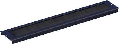 Picture of DYNAMIX Cabinet cable entry bar with brush. Dimensions: 360 x 67mm
