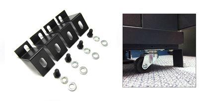 "Picture of DYNAMIX Bolt Down Kit for 2"" Castor Wheel. 4 pcs per pack."