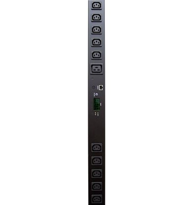 Picture of DYNAMIX 24 Port 16A Metered PDU. Power Monitoring by True RMS Meter