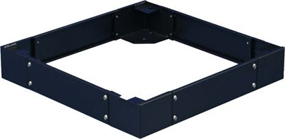 Picture of DYNAMIX SR Series Cabinet Plinth. 100mm high. Suites 600 x 600mm SR