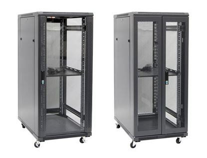 Picture of DYNAMIX 27RU Server Cabinet 600mm Deep (600 x 600 x 1410mm) Incl. 1x