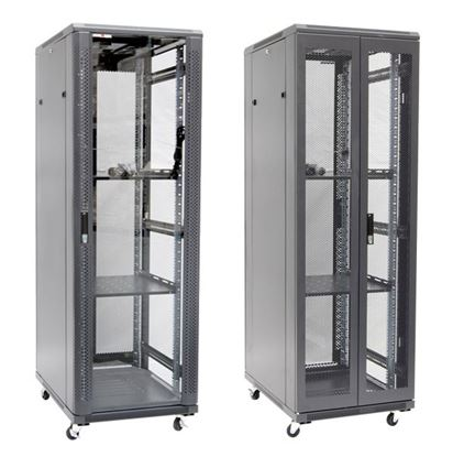 Picture of DYNAMIX 37RU Server Cabinet 1000mm Deep (600 x 1000 x 1853mm). Incl. 2