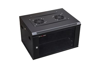 Picture of DYNAMIX 6RU Wall Mount Cabinet 450mm Deep (600 x 450 x 368mm).