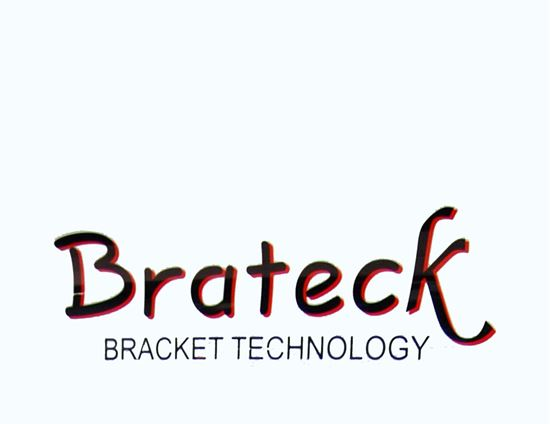 Picture of BRATECK Logo Sign, 870 x 655mm