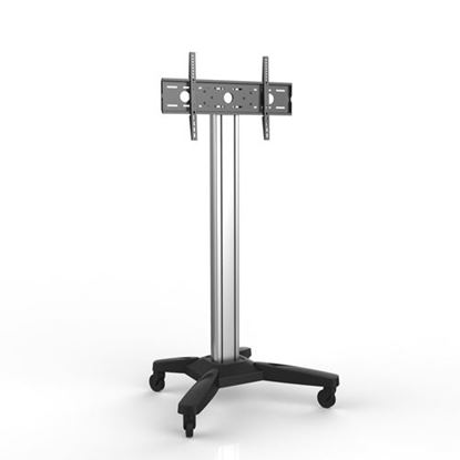 Picture of BRATECK 37'-75' Mobile TV cart. Max load: 80kg. Max height 1860mm.