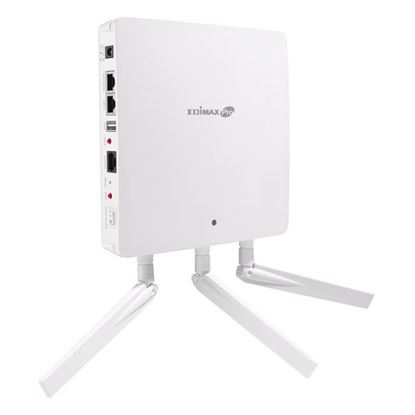 Picture of EDIMAX 3x 3 AC Dual-Band PoE Access Point. Wall mountable. High-