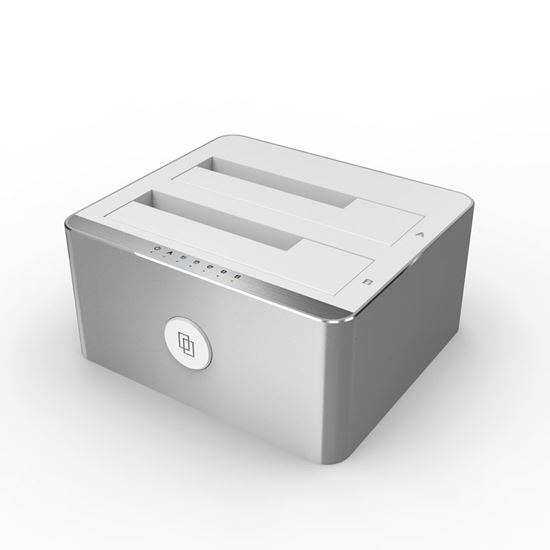 Picture of UNITEK USB3.1 GenII, Type-C to SATA 6G Docking Station with