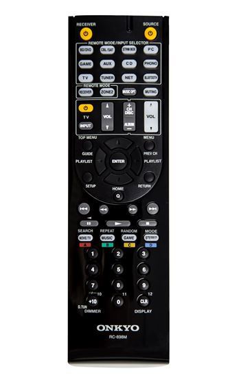 Picture of ONKYO Remote to suit TX-NR545, TX-NR646 and others.