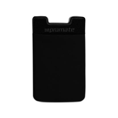 Picture of PROMATE Mobile Card Holder Sticker Slim card pouch with 3M adhesive.