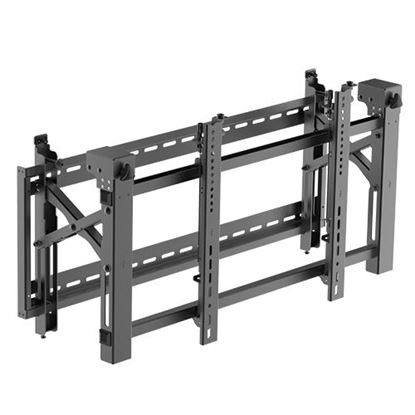 Picture of BRATECK 45'-75' Pop-Out video wall bracket. Max load:70Kgs.