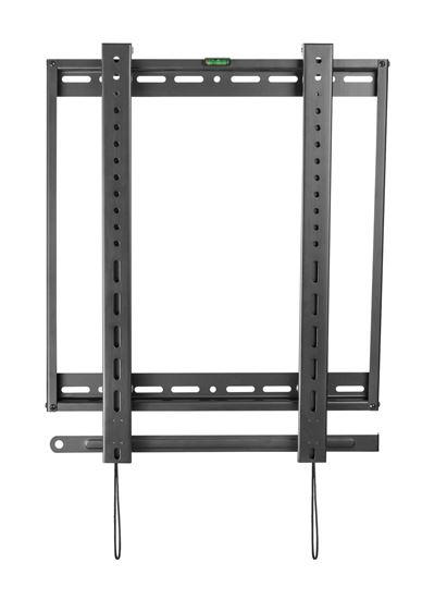 Picture of BRATECK 45'-70' Portrait wall mount bracket. Max load: 50kgs.