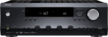 Picture of INTEGRA Network Stereo Receiver. 80W P/CH, Z2 pre out with