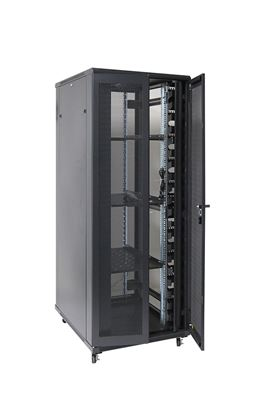 Picture of DYNAMIX 42RU Server Cabinet 900mm Deep (800 x 900 x 2077mm). Incl. 3x