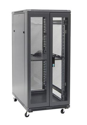 Picture of DYNAMIX 27RU Server Cabinet 900mm Deep (600 x 900 x 1410mm) Incl. 1x