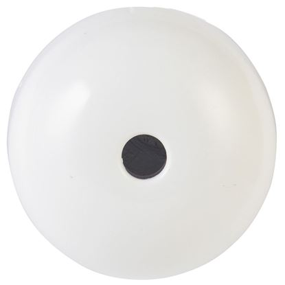 Picture of TRADESAVE Ceiling Rose with 4 Terminals. Bright White.