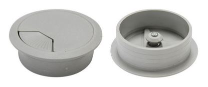Picture of DYNAMIX 80mm Desk Grommet GREY