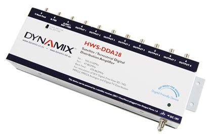Picture of DYNAMIX 2x 8 Digital Distribution Amplifier with 8x Outputs, 2x