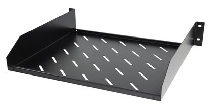 "Picture of DYNAMIX 2RU 19"" Cantilever Shelf. 381mm Deep, Weight Rating: 38kg."