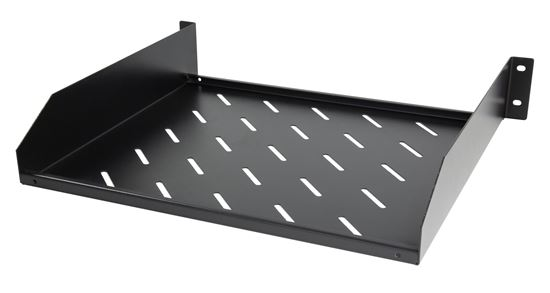 Picture of DYNAMIX 2RU 19' Cantilever Shelf. 381mm Deep, Weight Rating: 38kg.