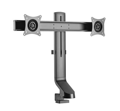 Picture of BRATECK 17-27' Dual monitor desk mount. Sit/Stand workstation