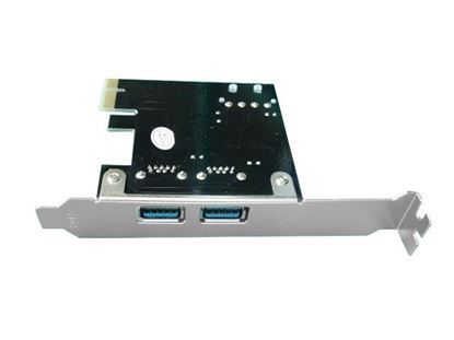 Picture of UNITEK PCI-E USB 3.0, 2x Port Card Supplied with Low Profile &