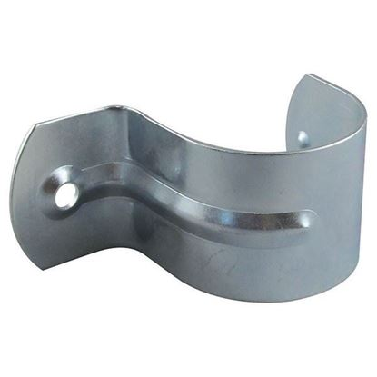 Picture of TRADESAVE Conduit Saddle Half (50mm). Zinc Plated. 6mm Mounting