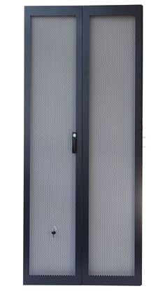 Picture of DYNAMIX 45RU Dual Mesh Pantry Style Door Kit for SR Series Cabinets