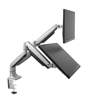 "Picture of BRATECK 13""-32"" Dual Interactive Counter Balance Monitor Desk Mount."