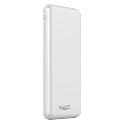Picture of PROMATE 30000mAh Ultra-Slim Power Bank. 3x Input & 4x output ports.