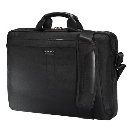 Picture of EVERKI Lunar Laptop Briefcase 18.4' , Magnetic quick access pocket,