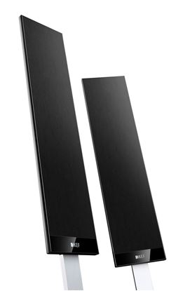 """Picture of KEF 4.5"""" Satellite Speakers. Ultra-slim bass driver. Large"""