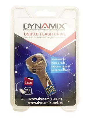 Picture of DYNAMIX 32GB USB3.0 Key Flash Drive