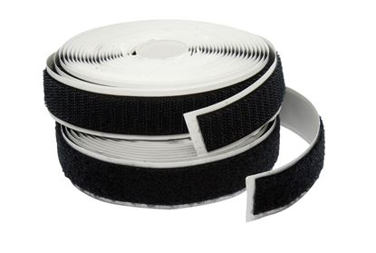 Picture of DYNAMIX Self Adhesive Hook & Loop Strap. 5M x 20mm, 1x Female & 1x