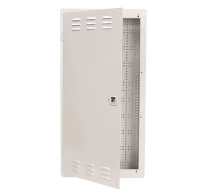 """Picture of DYNAMIX 28"""" FTTH Low Profile Network Enclosure Recessed Wall"""