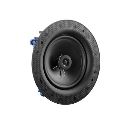 """Picture of LUMI AUDIO 8"""" Frameless Ceiling 100V Speaker. 60W RMS, Frequency"""