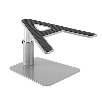 Picture of BRATECK Laptop Height Adjustable Desktop Stand. Stepless Height