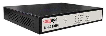 Picture of NETSYS Giga Ethernet over Coax Master. Designed to Connect with