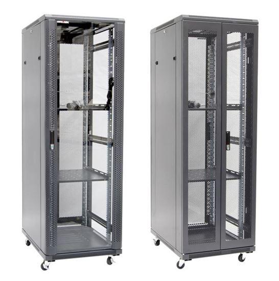 Picture of DYNAMIX 37RU Server Cabinet 1000mm Deep (600x1000x1853mm) FLAT PACK.