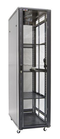 Picture of DYNAMIX 42RU Server Cabinet 1000mm Deep (600x1000x2077mm). FLAT PACK